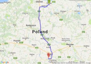 Trasa Elbląg - Pabianice