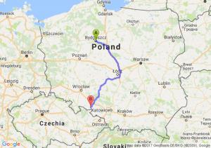 Bydgoszcz (kujawsko-pomorskie) - Biała (opolskie)