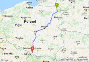 Suwałki - Bielsko-Biała