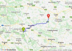 Trasa Wałbrzych - Sieradz