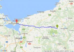 Barwice (zachodniopomorskie) - Międzyzdroje (zachodniopomorskie)