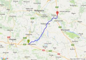 Trasa Września - Lubicz Dolny