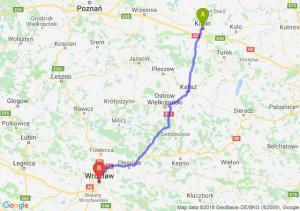 Trasa Konin - Wrocław