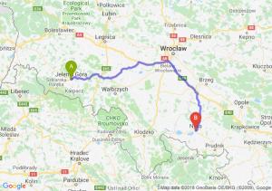 Trasa Jelenia Góra - Nysa