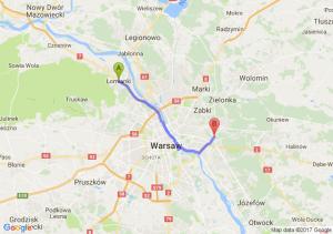 Łomianki (mazowieckie) - Warszawa Ul. Marsa Róg Ul. Żołnierskiej