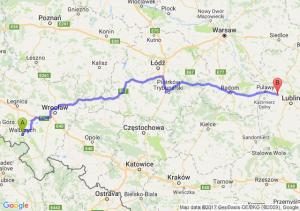 Trasa Wałbrzych - Markuszów