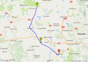 Lipnica (wielkopolskie) - Buk (wielkopolskie) - Stęszew (wielkopolskie)