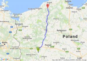 Wolsztyn (wielkopolskie) - Kępice (pomorskie)