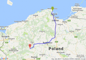 Puck (pomorskie) - Czarnków (wielkopolskie)