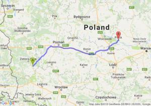 Trasa Nowa Sól - Płock