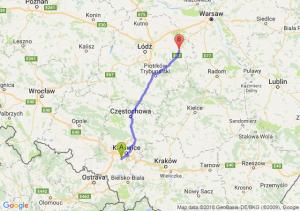 Trasa Mikołów - Rawa Mazowiecka