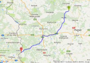 Czarnków (wielkopolskie) - Sękowice (lubuskie)
