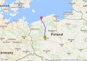 Głuchowo (wielkopolskie) - Koszalin (zachodniopomorskie)