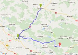 Namysłów (opolskie) - Brzeg (opolskie) - Opole (opolskie)