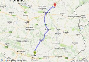 Baranówka (małopolskie) - Łochów (mazowieckie)