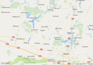 Turzno (kujawsko-pomorskie) - Toruń - Luboń (wielkopolskie)