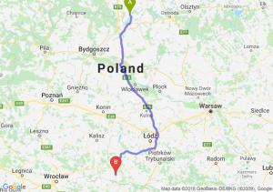 Trasa Kwidzyn - Wieluń