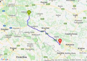 Trasa Nowa Sól - Kędzierzyn-Koźle