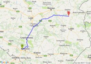 Trasa Zabrze - Łuków