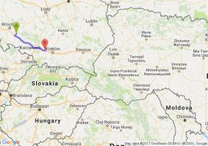 Brzeg (opolskie) - Chrzanów (małopolskie)