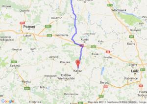 Bydgoszcz (kujawsko-pomorskie) - Russów (wielkopolskie)
