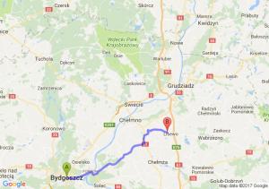Bydgoszcz (kujawsko-pomorskie) - Lisewo (kujawsko-pomorskie)