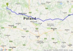Borne Sulinowo - Białystok (podlaskie)