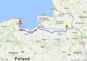 Gołdap - Gdynia (pomorskie)