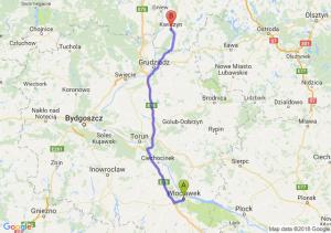 Trasa Włocławek - Kwidzyn