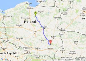 Nowe Miasto Lubawskie (warmińsko-mazurskie) - Stalowa Wola (podkarpackie)