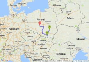 Opatów (świętokrzyskie) - Nowy Sącz - Bukowina
