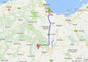 Gdańsk (pomorskie) - Lniano (kujawsko-pomorskie)