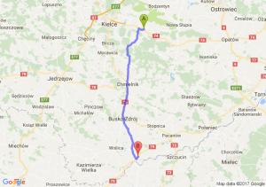 Wola Jachowa - Nowy Korczyn (świętokrzyskie)