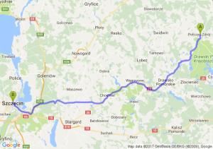 Połczyn-zdrój (zachodniopomorskie) - Szczecin (zachodniopomorskie) - Szczecin (zachodniopomorskie)