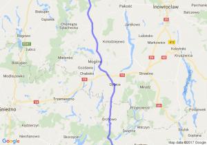 Kalisz (wielkopolskie) - Bydgoszcz (kujawsko-pomorskie) - Srebrnica