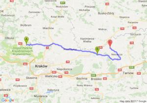 Sąspów - Górka (małopolskie) - Siedliszowice