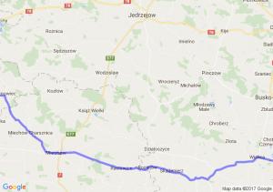 Nowy Korczyn (świętokrzyskie) - Jaworznik (śląskie)
