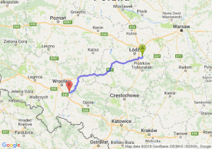 Trasa Borowa - Oława