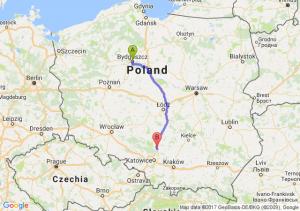 Bydgoszcz - Koziegłowy (śląskie)