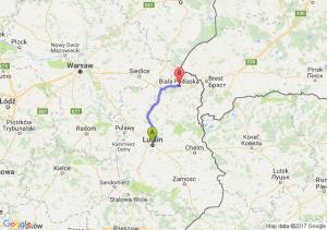 Lublin (lubelskie) - Biala Podlaska