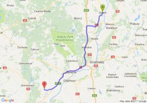 Gniew (pomorskie) - Kotomierz (kujawsko-pomorskie)