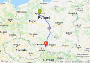 Trasa Bydgoszcz - Pszczyna