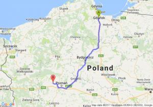 Pruszcz Gdański (pomorskie) - Młodasko (wielkopolskie)
