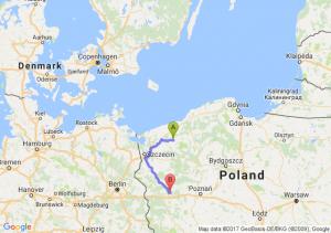 Świdwin (zachodniopomorskie) - Bobowicko (lubuskie)