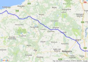 Kowalewo Pomorskie (kujawsko-pomorskie) - Trzebiatów (zachodniopomorskie)