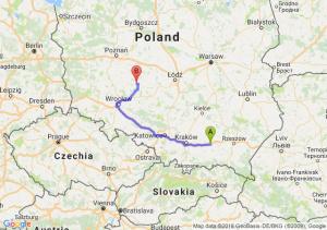 Trasa Tarnów - Ostrów Wielkopolski