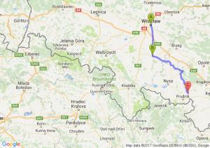 Wrocław (dolnośląskie) - Strzelin - Biała (opolskie)