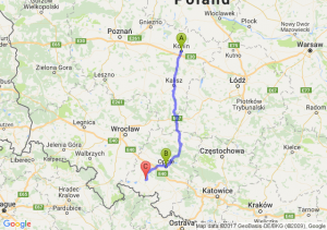 Konin  - Opole (opolskie) - Mańkowice