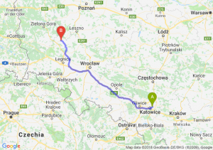 Trasa Sosnowiec - Głogów