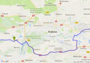 Alwernia (małopolskie) - Liszki - Kraków Ruszcza